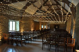 Caswell House Fairy Lights and Uplighting