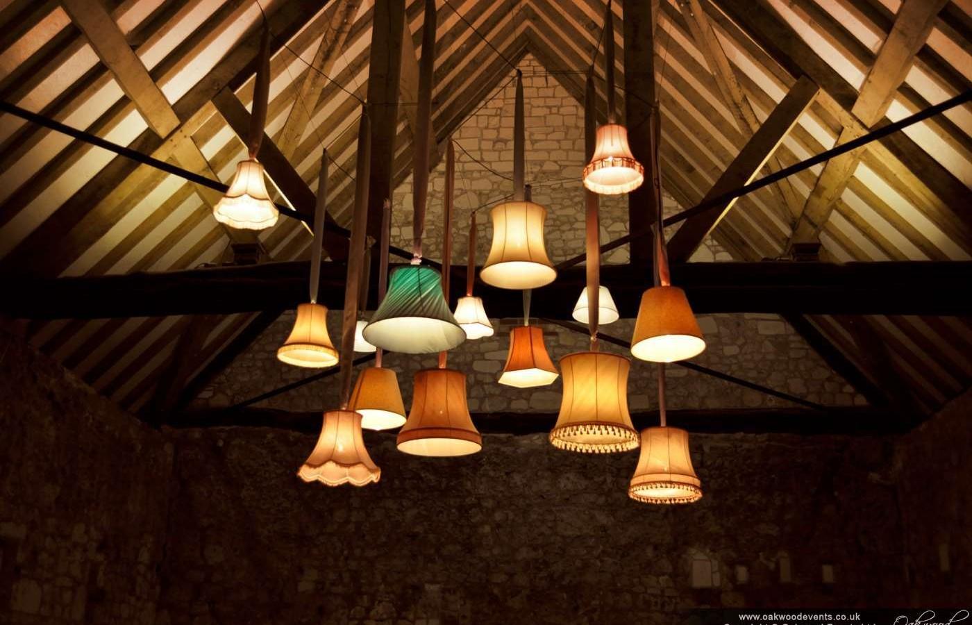Custom Lampshade Light Canopy