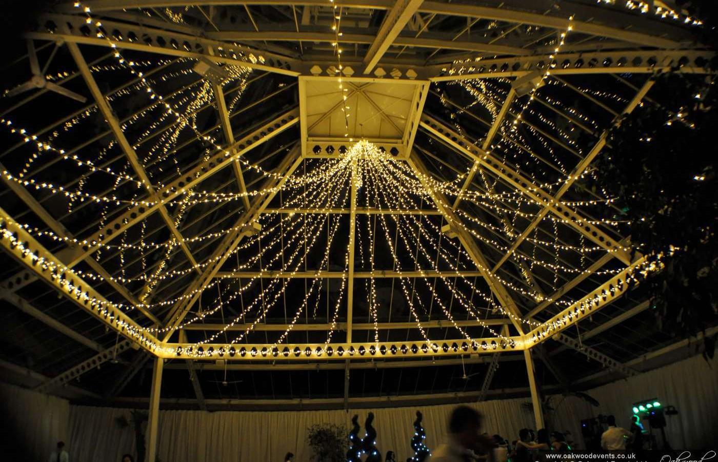 Denbies Wine Estate Fairy Light Canopy