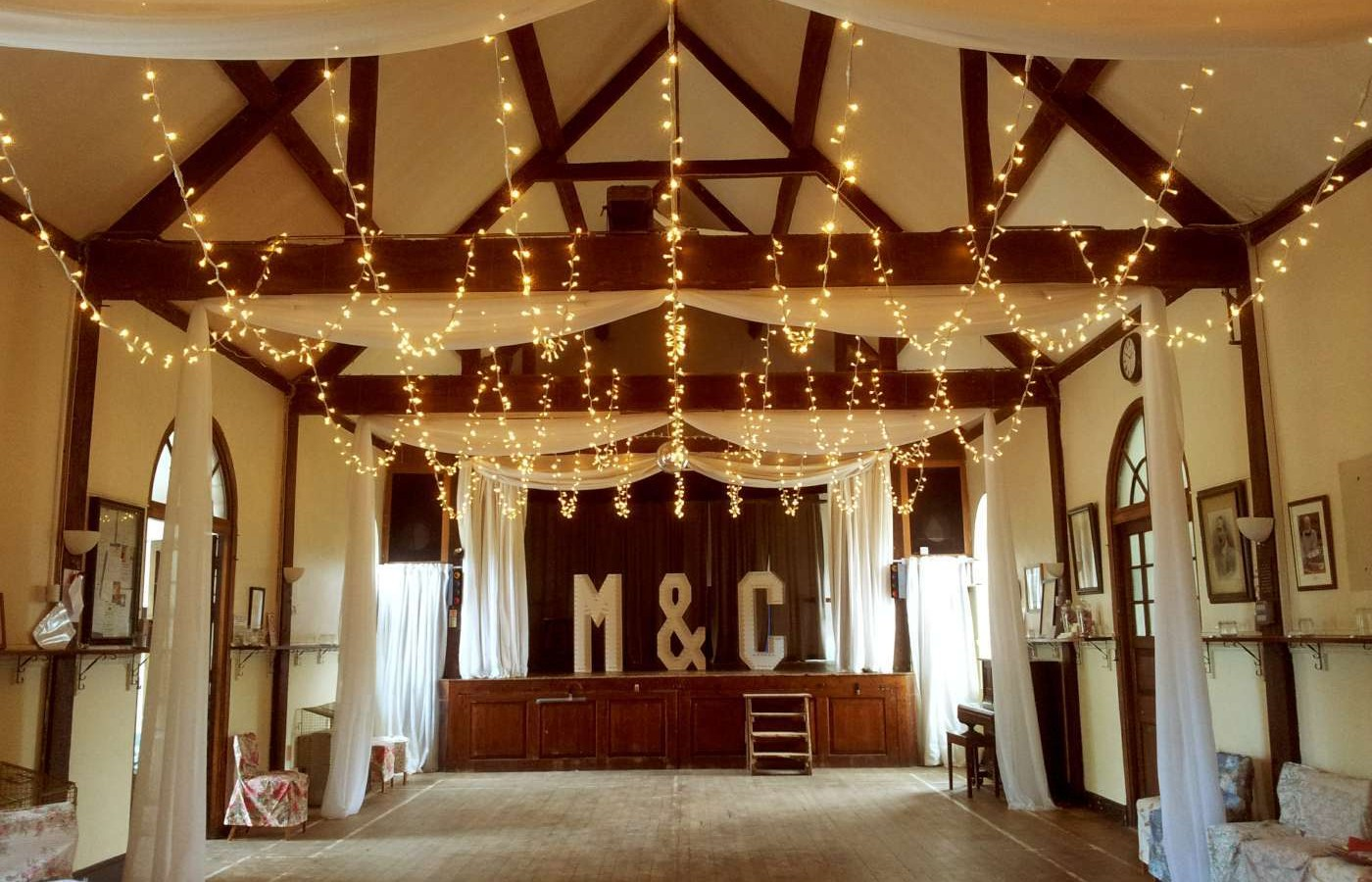 Drapes And Fairy Lights