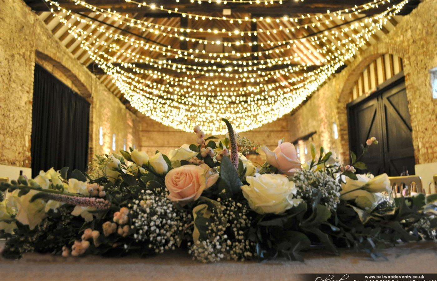 Fairy Light Ceiling