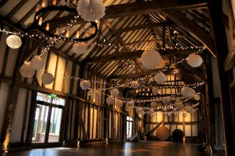 Fairy Lights and Lanterns at Micklefield Hall