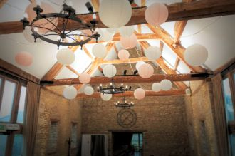 Lanterns and Fairy Lights at Caswell House