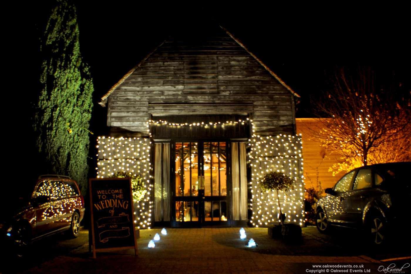 Olde Bell Hurley Fairy Light Canopy