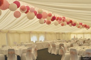 Oakwood events blog for Hanging pom poms from ceiling