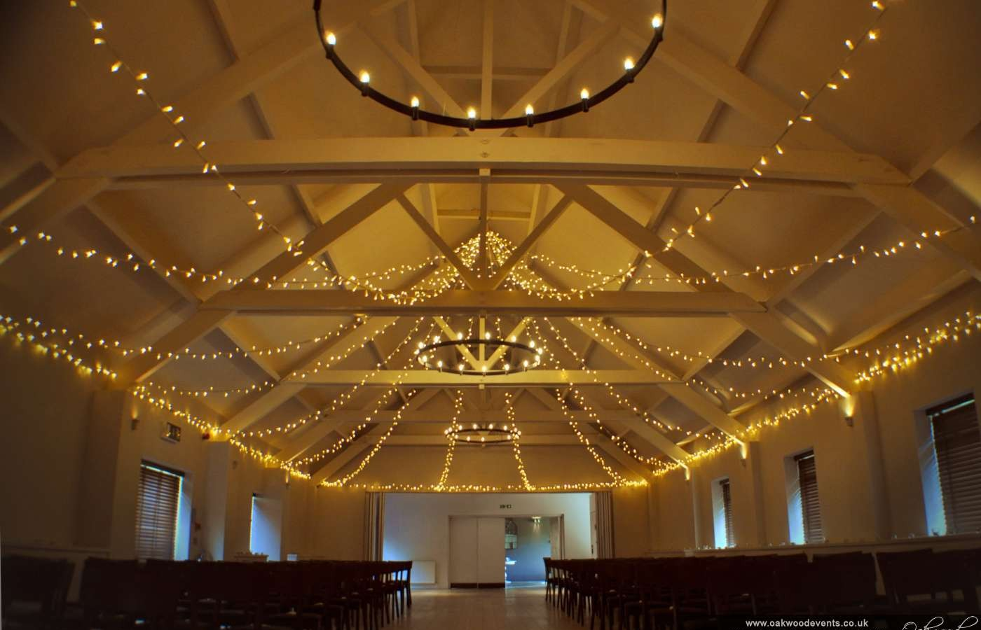 Stoke Place Fairy Light Ceiling Canopy