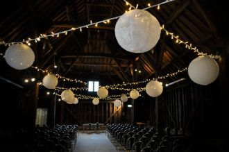 Great Barn Fairy Lights and Lanterns
