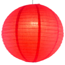 Berry paper lantern colour swatch