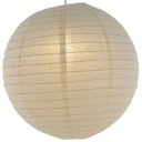 Ivory paper lantern colour swatch