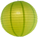 Lime paper lantern colour swatch