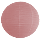 Rose paper lantern colour swatch
