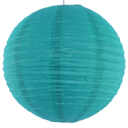 Teal paper lantern colour swatch