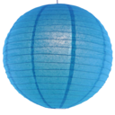 Turquoise paper lantern colour swatch