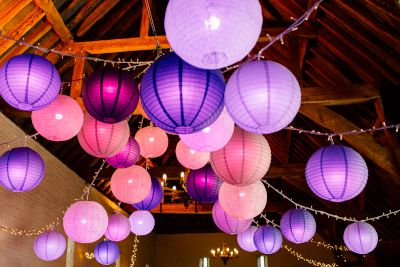 Disco Lanterns with Fairy Lights
