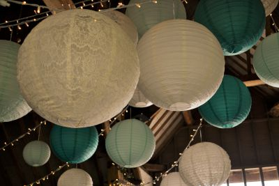 Lace and Paper Lanterns