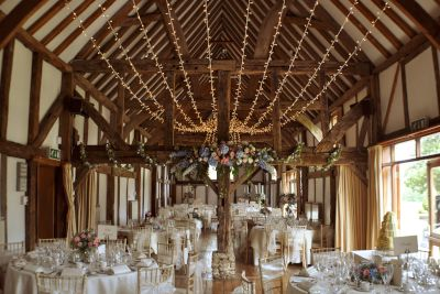 Fairy Light Canopy at Loseley Park