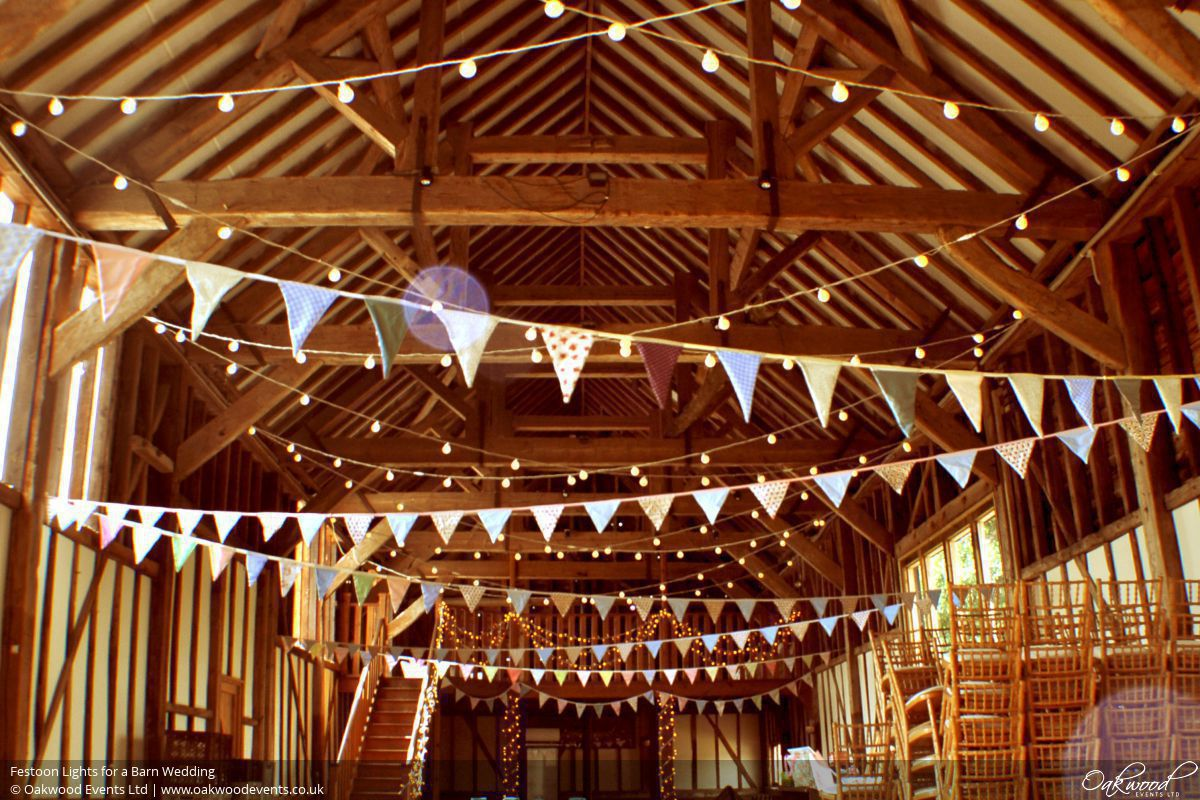 Barn Lighting Hire Wedding And Event Lighting By Oakwood