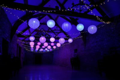 Fairy Lights with Disco Lanterns