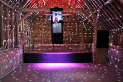 Disco Lighting System in a Barn