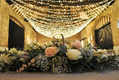 Fairy Light Ceiling Canopy