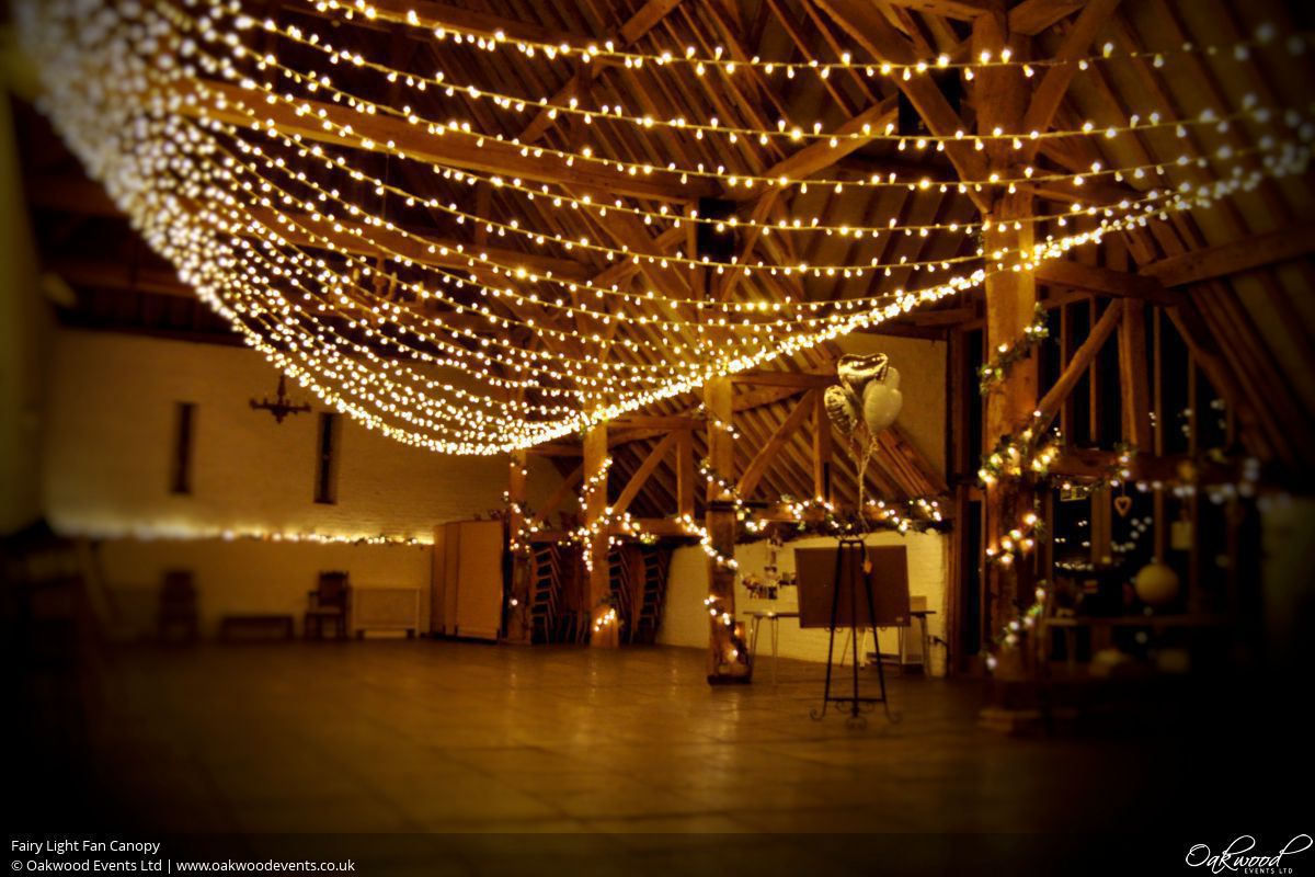 Fairy Light Fan Canopy Fairy Lights Hire