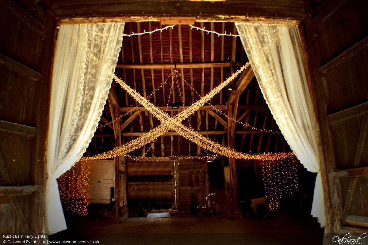 Fairy Lights Hire Oakwood Events
