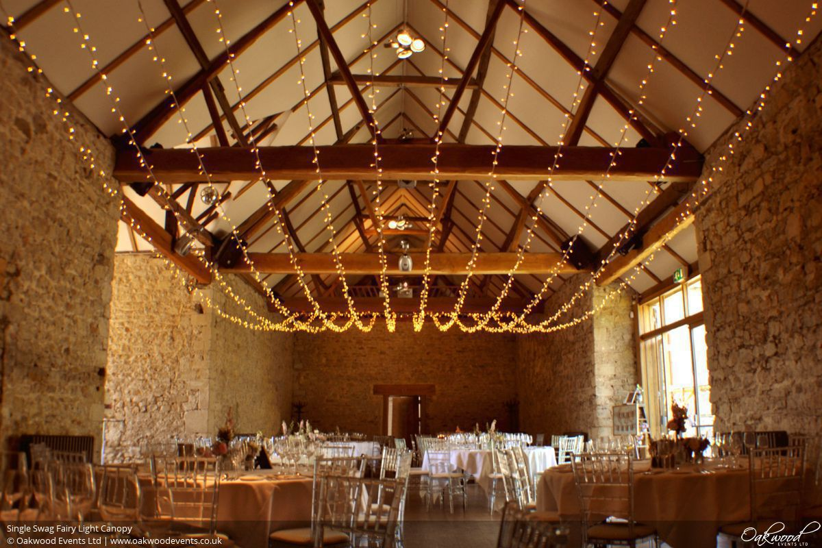 Single Swag & Fairy Lights Hire | Oakwood Events