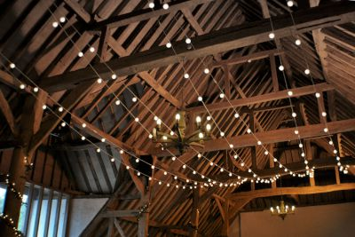 Festoon Light Canopy