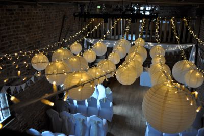 Lanterns with Fairy Lighting