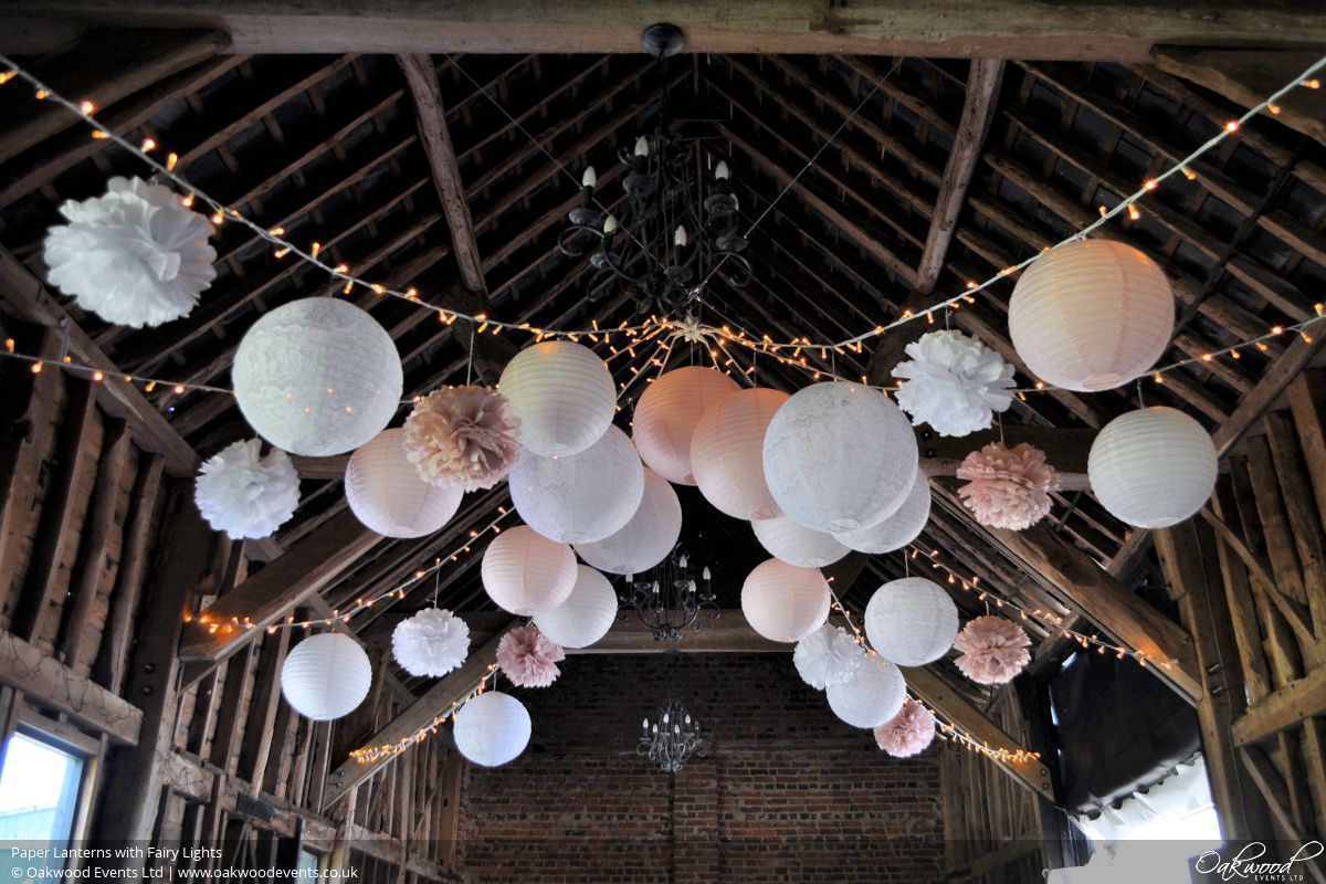 Paper Lantern Hire Oakwood Events