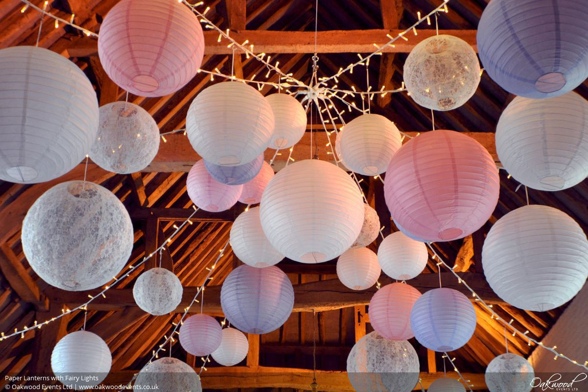 Paper Lantern Hire | Oakwood Events
