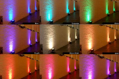 Uplighting Colours