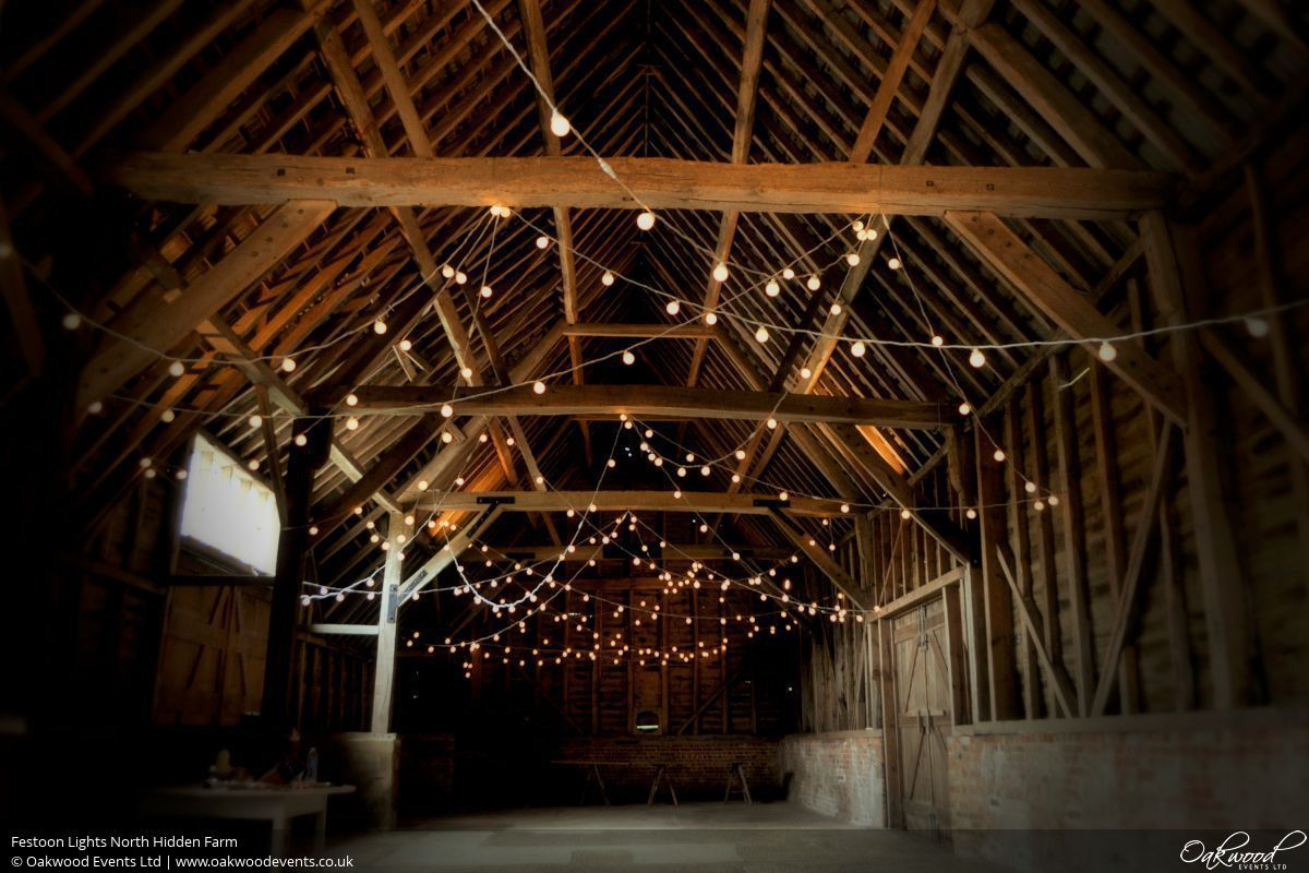 North Hidden Farm Festoon Lights