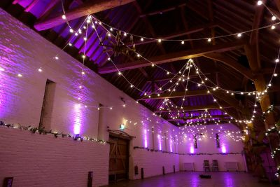 Festoon Lights and Uplighting