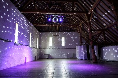Ufton Court Disco Lights