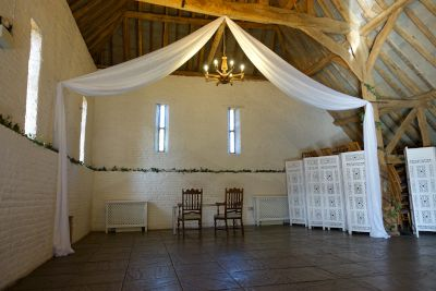Ufton Court Fabric Drapes