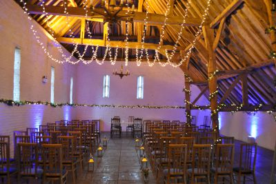 Ufton Court Fairy Light Canopy