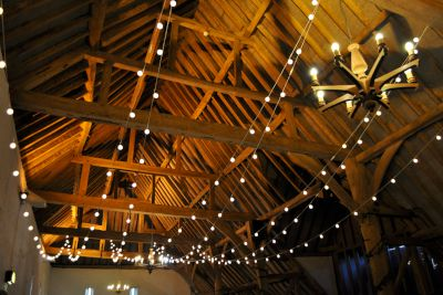 Ufton Court Festoon Single Swag Canopy