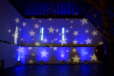 Ufton Court Gobo Projection