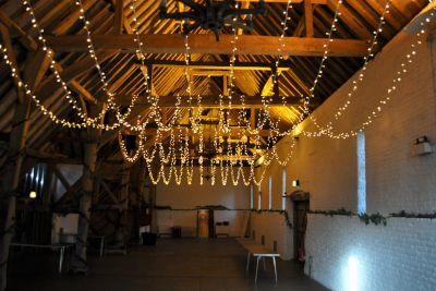 Ufton Court Multi Swag Fairy Light Canopy