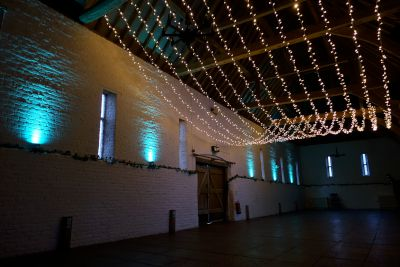 Ufton Court Uplighting